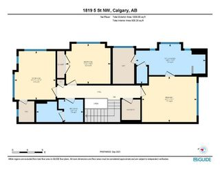 Photo 40: 1819 5 Street NW in Calgary: Mount Pleasant Semi Detached for sale : MLS®# A1147804