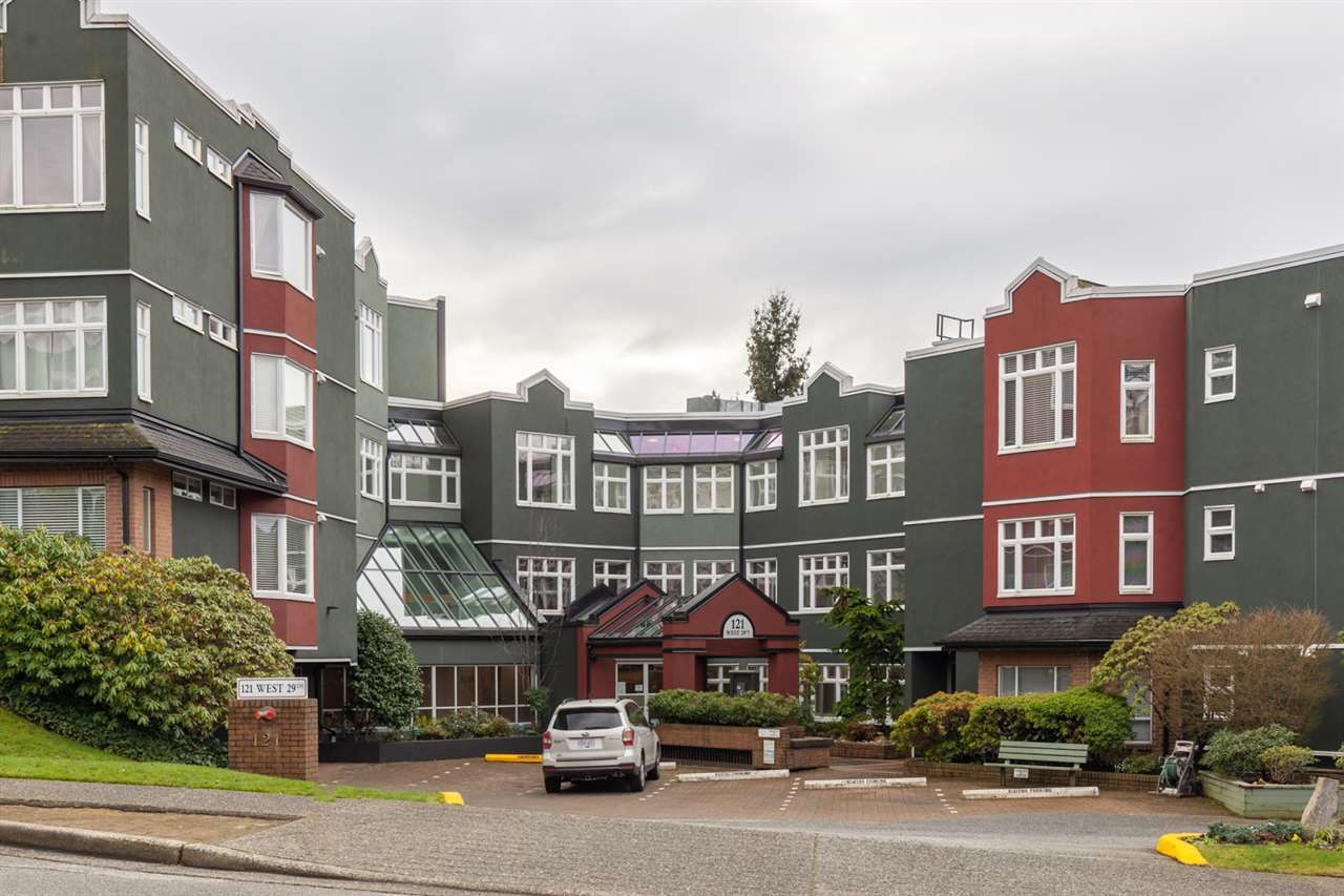 """Main Photo: 419 121 W 29TH Street in North Vancouver: Upper Lonsdale Condo for sale in """"Somerset Green"""" : MLS®# R2544988"""