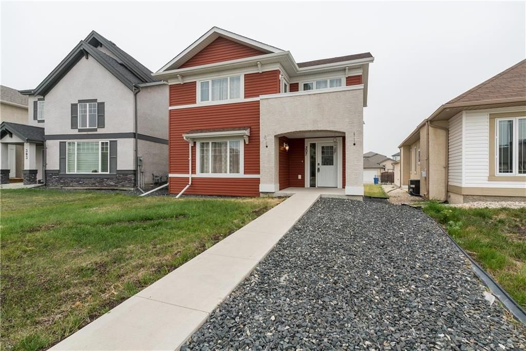 Main Photo: 307 Brookfield Crescent in Winnipeg: Bridgwater Lakes Residential for sale (1R)  : MLS®# 202118343