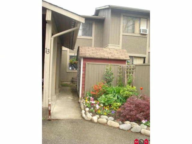 Main Photo: 13 46689 FIRST Avenue in Chilliwack: Chilliwack E Young-Yale Townhouse for sale : MLS®# R2542594