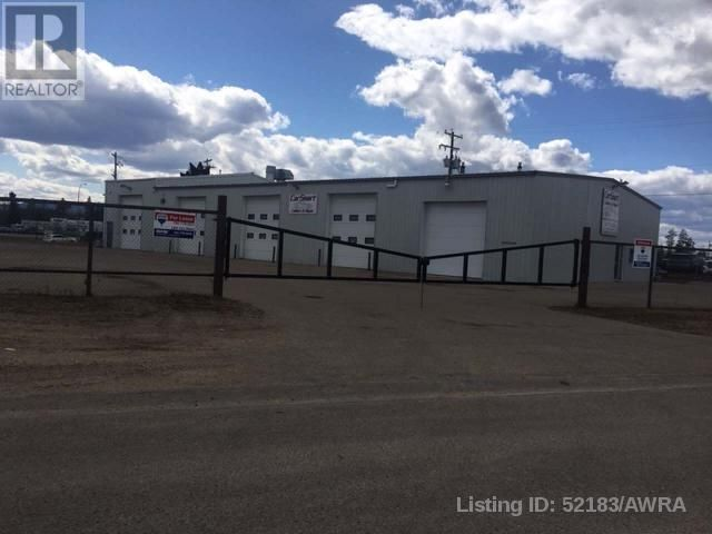 Main Photo: 3511 35 AVE in Whitecourt: Industrial for sale : MLS®# AWI52183