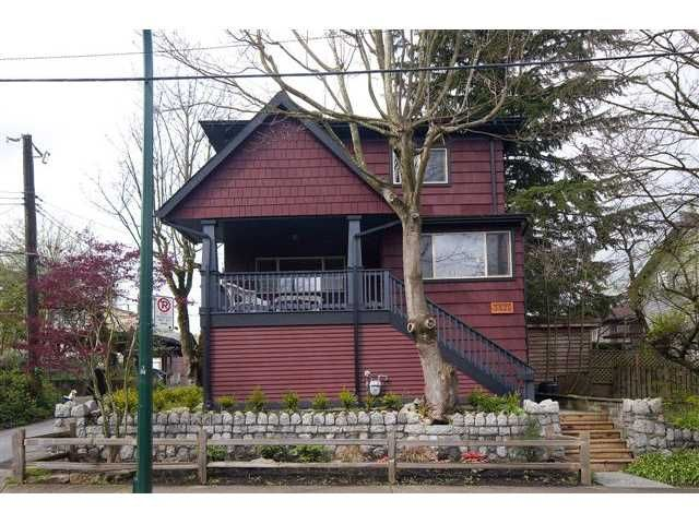 Main Photo: 3821 SOPHIA Street in Vancouver: Main House for sale (Vancouver East)  : MLS®# V819933