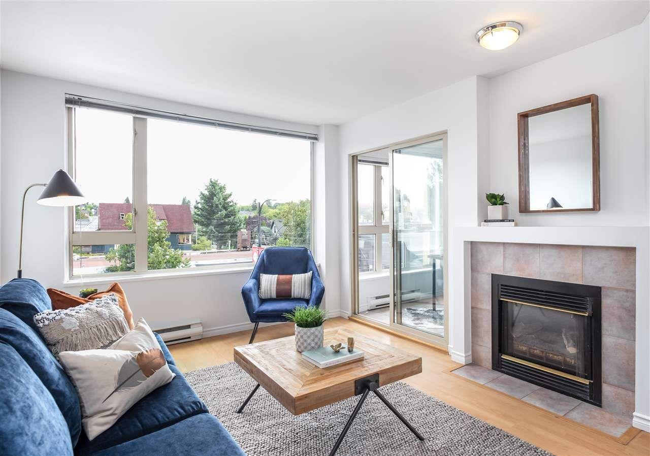 """Main Photo: 305 1688 E 4TH Avenue in Vancouver: Grandview Woodland Condo for sale in """"LA CASA"""" (Vancouver East)  : MLS®# R2394392"""