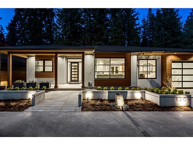 Photo 1: Photos: 1264 LANGDALE DR in North Vancouver: Canyon Heights NV House for sale : MLS®# V1100914
