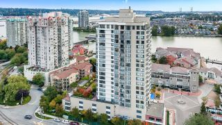 """Photo 2: 1705 1 RENAISSANCE Square in New Westminster: Quay Condo for sale in """"The Q"""" : MLS®# R2623606"""