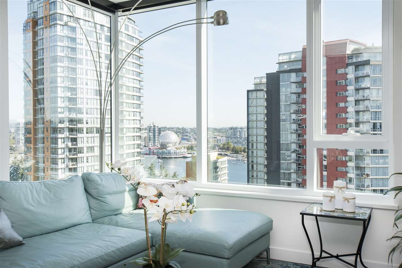 """Photo 7: Photos: 1908 68 SMITHE Street in Vancouver: Downtown VW Condo for sale in """"1 PACIFIC"""" (Vancouver West)  : MLS®# R2216431"""