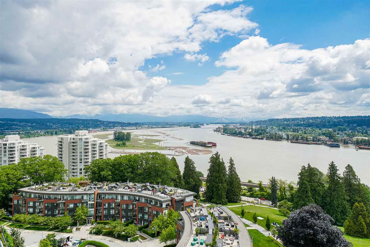 """Main Photo: 1403 15 E ROYAL Avenue in New Westminster: Fraserview NW Condo for sale in """"Victoria Hill"""" : MLS®# R2461883"""