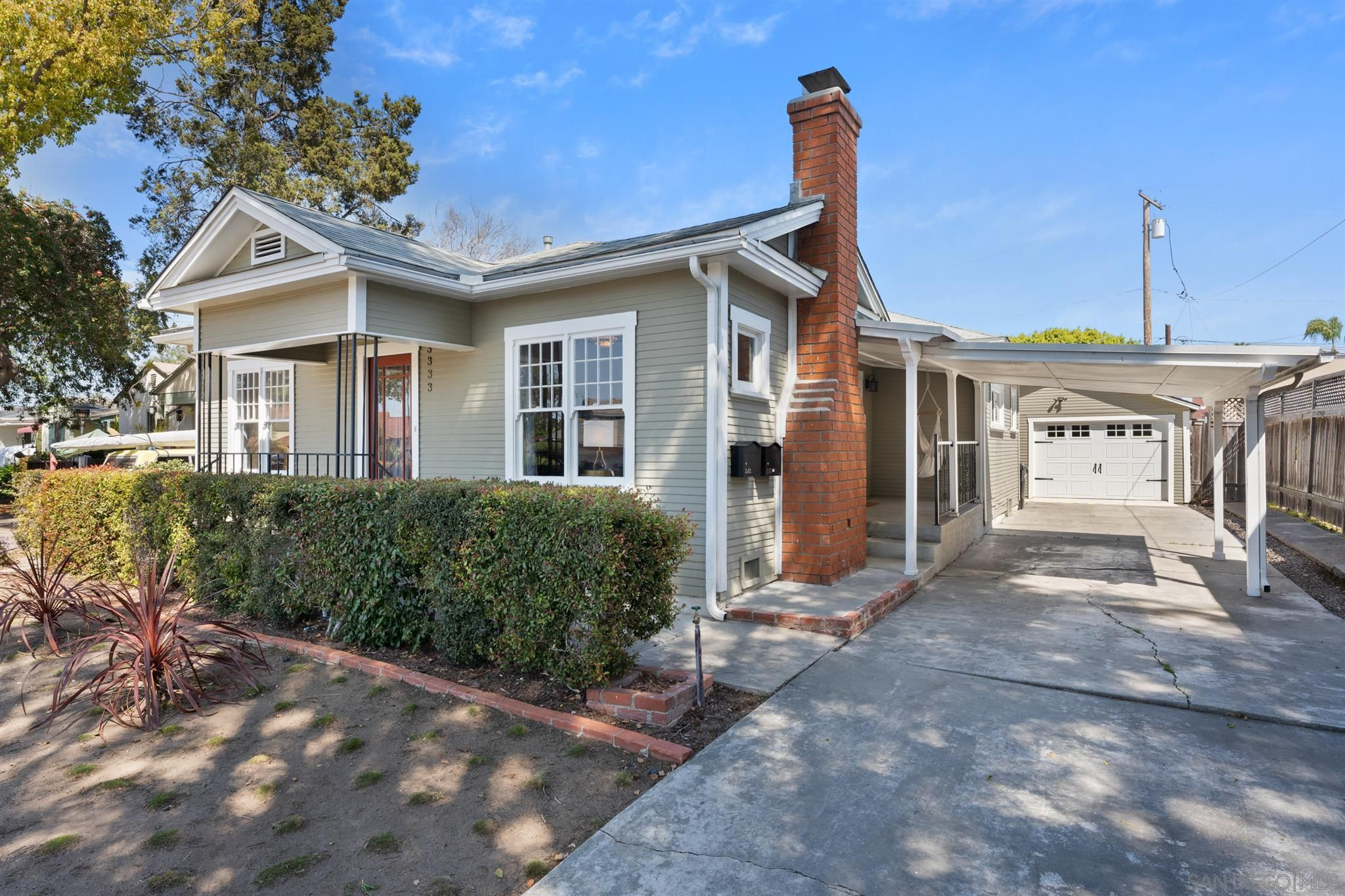 Main Photo: NORMAL HEIGHTS House for sale : 4 bedrooms : 3333 N Mountain View Dr in San Diego