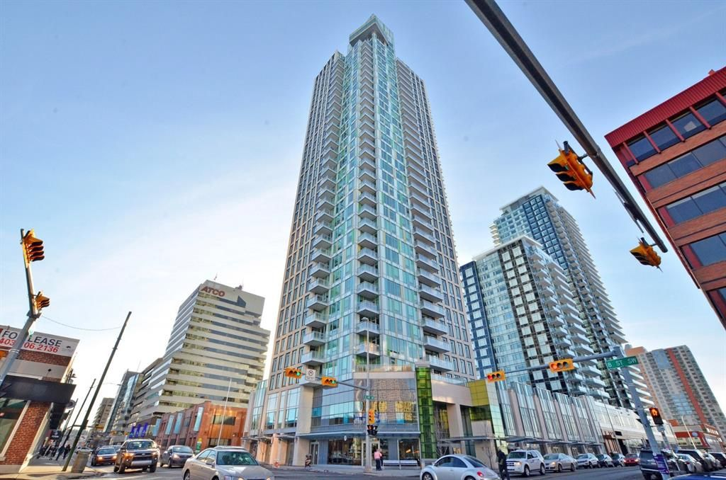 Main Photo: 1402 901 10 Avenue SW in Calgary: Beltline Apartment for sale : MLS®# A1102204