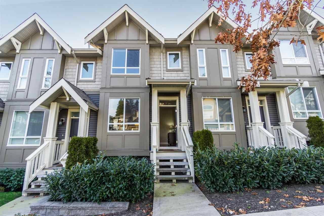 """Main Photo: 9 3395 GALLOWAY Avenue in Coquitlam: Burke Mountain Townhouse for sale in """"WYNWOOD"""" : MLS®# R2547501"""