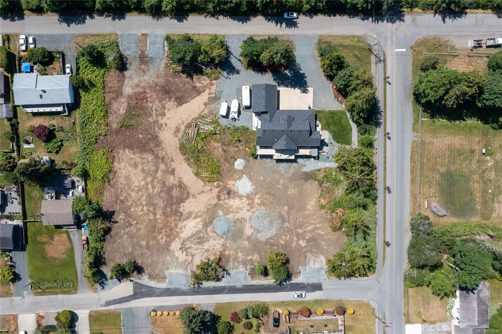 Main Photo: F E Harby Rd in : Na Lower Lantzville Land for sale (Nanaimo)  : MLS®# 879286