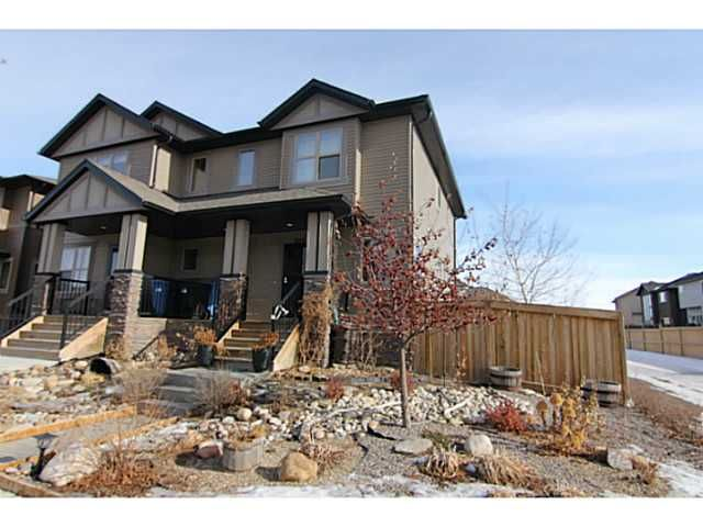 Main Photo: 254 CHAPARRAL VALLEY Drive SE in CALGARY: C-285 Residential Attached for sale (Calgary)  : MLS®# C3554170