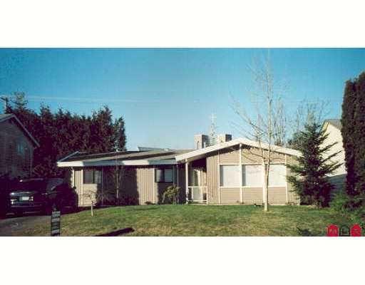 Main Photo: 2985 264A Street in Aldergrove: Home for sale : MLS®# F2702316
