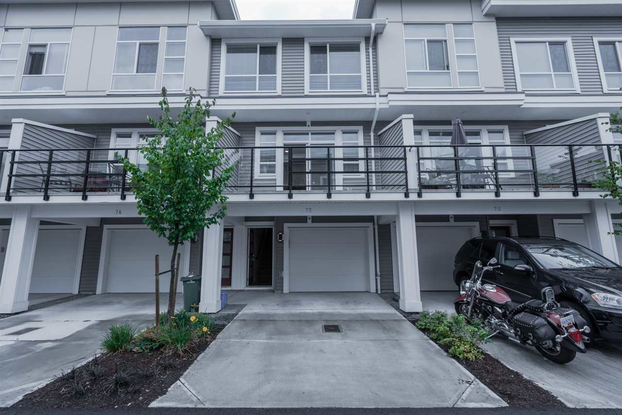 Main Photo: 75 8413 MIDTOWN Way in Chilliwack: Chilliwack W Young-Well Townhouse for sale : MLS®# R2403081