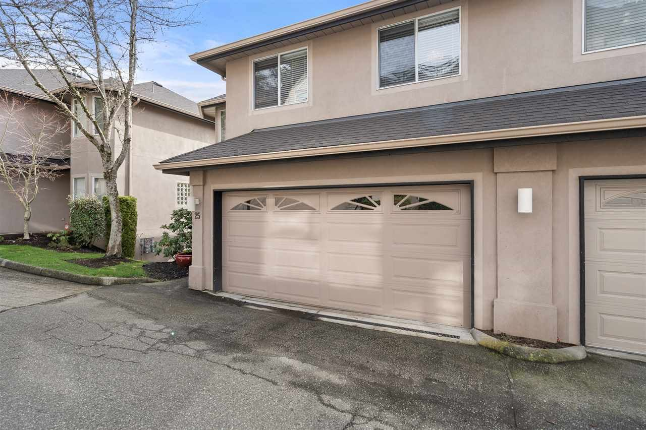 Main Photo: 25 2951 PANORAMA DRIVE in Coquitlam: Westwood Plateau Townhouse for sale : MLS®# R2548952