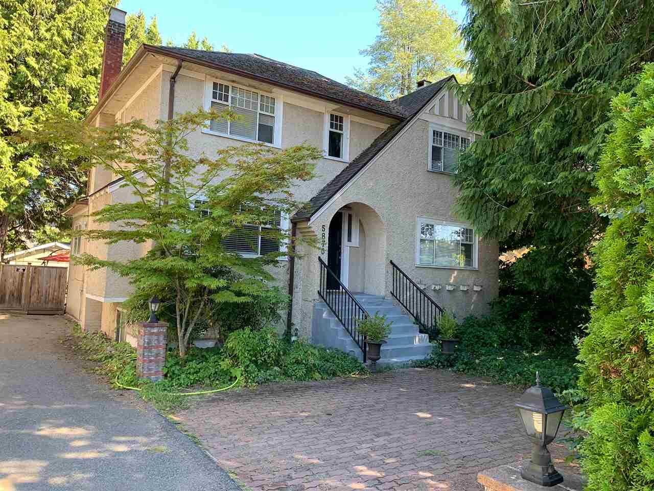 Main Photo: 5870 GRANVILLE Street in Vancouver: South Granville House for sale (Vancouver West)  : MLS®# R2509697