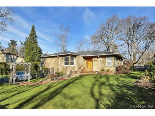 Main Photo: 4200 Cedar Hill Rd in VICTORIA: SE Mt Doug House for sale (Saanich East)  : MLS®# 721672