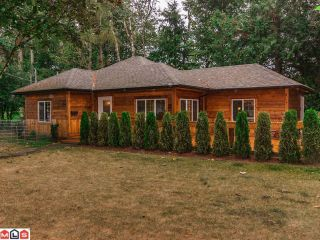 Photo 1: 2316 MCKENZIE Road in Abbotsford: Central Abbotsford House for sale : MLS®# F1405121