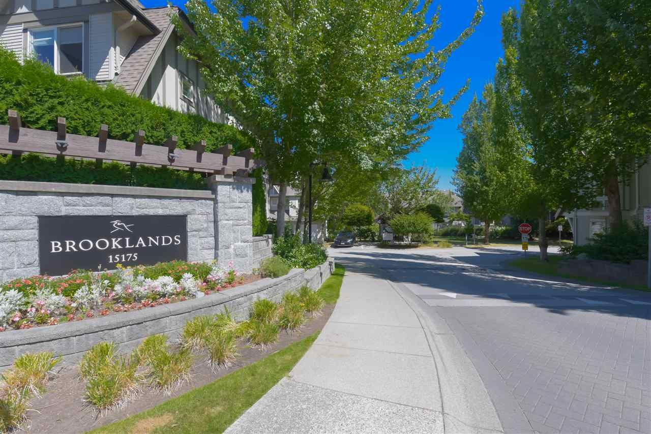 "Main Photo: 132 15175 62A Avenue in Surrey: Panorama Ridge Townhouse for sale in ""Brooklands"" : MLS®# R2487174"