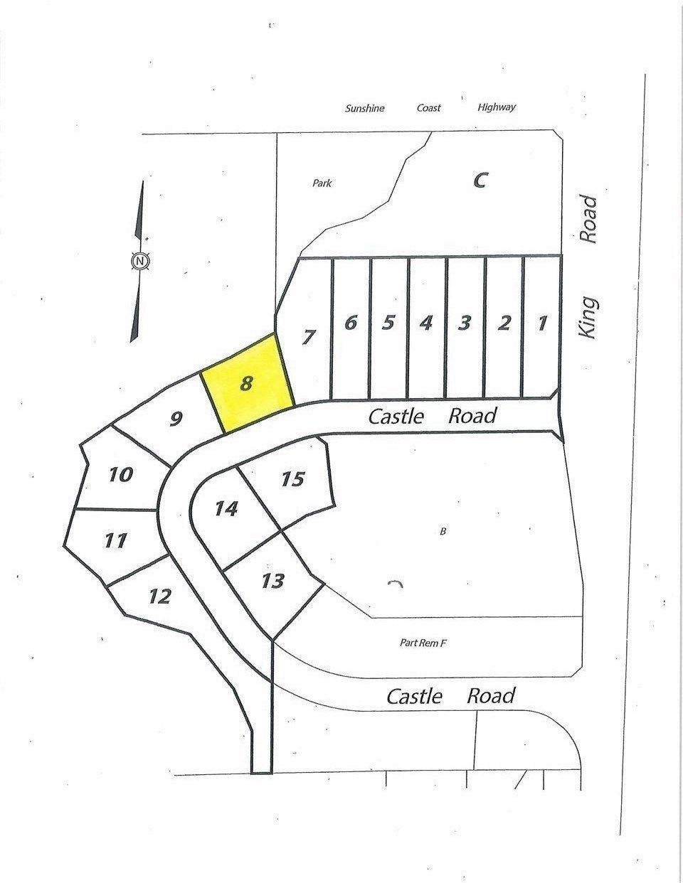 """Photo 1: Photos: LOT 8 CASTLE Road in Gibsons: Gibsons & Area Land for sale in """"KING & CASTLE"""" (Sunshine Coast)  : MLS®# R2422407"""