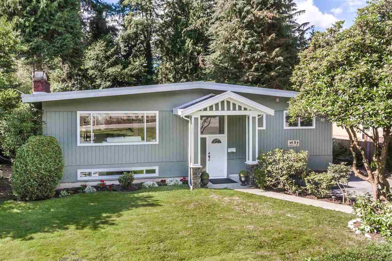 Main Photo: 5015 SHIRLEY AVENUE in North Vancouver: Canyon Heights NV House for sale : MLS®# R2210328