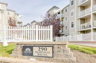 Photo 2: 410 290 Shawville Way SE in Calgary: Shawnessy Apartment for sale : MLS®# A1138417