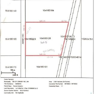 Photo 5: Lot 5 Hillview Estates in Orkney: Lot/Land for sale (Orkney Rm No. 244)  : MLS®# SK845395