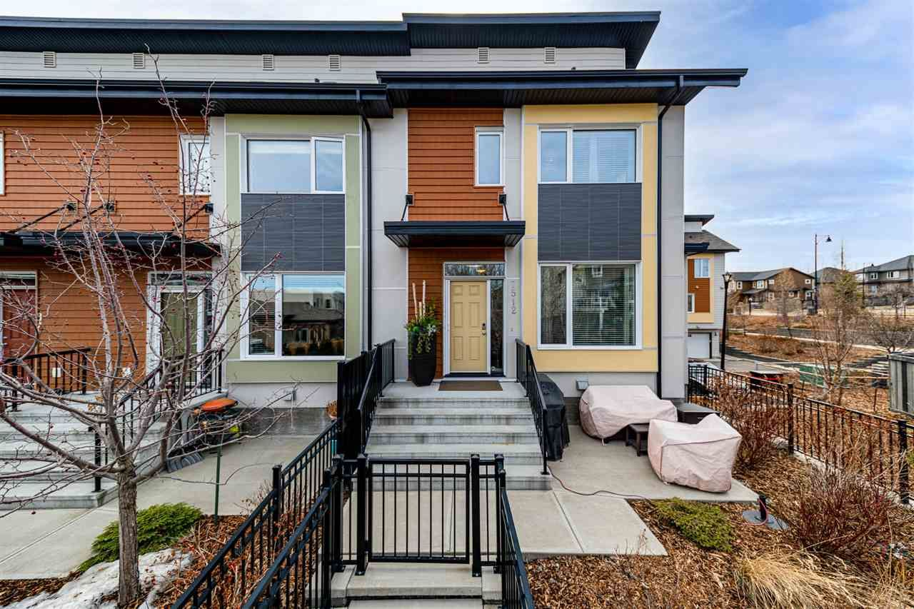 Main Photo: 7512 MAY Common in Edmonton: Zone 14 Townhouse for sale : MLS®# E4236152