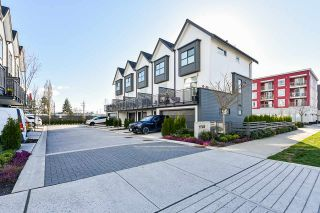 """Photo 1: 97 17568 57A Avenue in Surrey: Cloverdale BC Townhouse for sale in """"HAWTHORNE"""" (Cloverdale)  : MLS®# R2554938"""