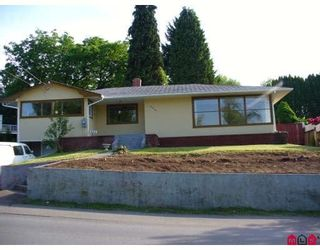 Photo 1: 2361 MCKENZIE RD in ABBOTSFORD: Central Abbotsford House for rent (Abbotsford)