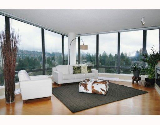 "Main Photo: 1208 400 CAPILANO Road in Port Moody: Port Moody Centre Condo for sale in ""ARIA 2"" : MLS®# V812614"