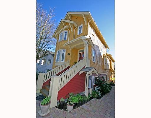 Main Photo: 3530 W 5TH Avenue in Vancouver: Kitsilano 1/2 Duplex for sale (Vancouver West)  : MLS®# V701973