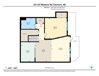Photo 24: 321 107 Montane Road: Canmore Apartment for sale : MLS®# A1101356