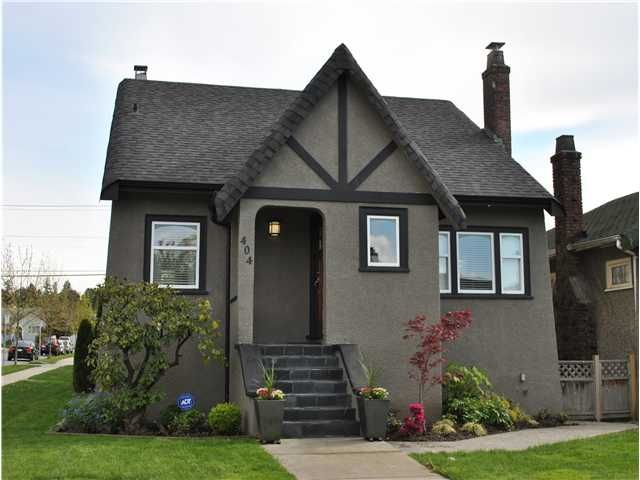 """Main Photo: 404 W 23RD Avenue in Vancouver: Cambie House for sale in """"CAMBIE VILLAGE"""" (Vancouver West)  : MLS®# V828426"""