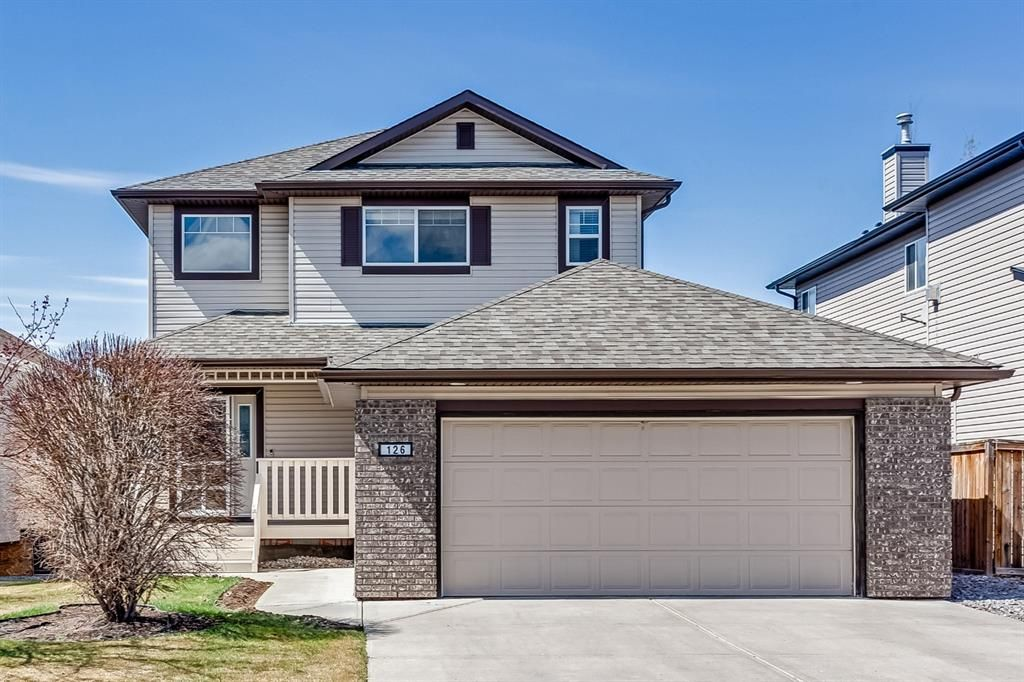 Main Photo: 126 Tanner Close: Airdrie Detached for sale : MLS®# A1103980