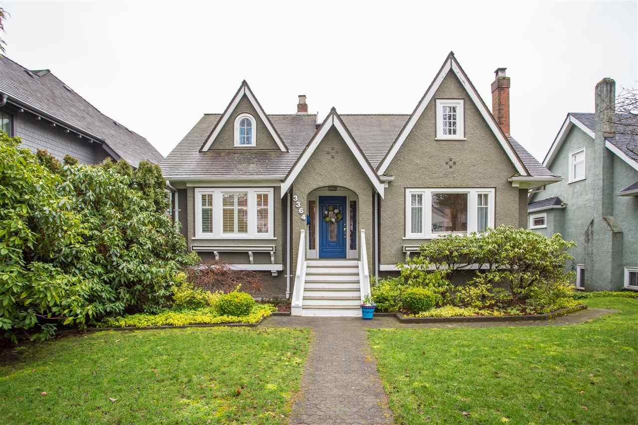 Main Photo: 3364 W 36TH Avenue in Vancouver: Dunbar House for sale (Vancouver West)  : MLS®# R2436672