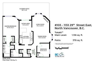 Photo 20: 103 1133 E 29 STREET in North Vancouver: Lynn Valley Condo for sale : MLS®# R2149632