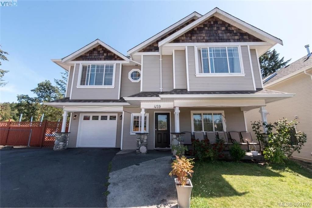 Main Photo: 459 Avery Crt in VICTORIA: La Thetis Heights House for sale (Langford)  : MLS®# 788269