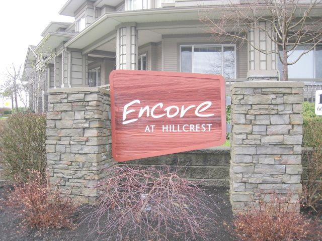 "Main Photo: 13 18701 66TH Avenue in Surrey: Cloverdale BC Townhouse for sale in ""ENCORE AT HILLCREST"" (Cloverdale)  : MLS®# F1300526"