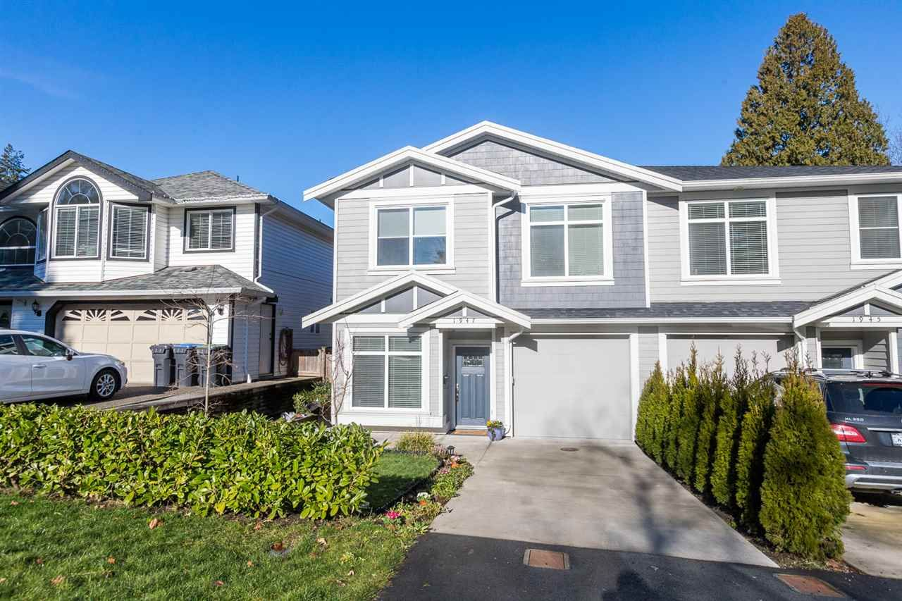 Main Photo: 1947 MORGAN Avenue in Port Coquitlam: Lower Mary Hill 1/2 Duplex for sale : MLS®# R2536271