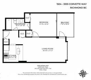 Photo 29: 1504 3333 CORVETTE WAY in Richmond: West Cambie Condo for sale : MLS®# R2535983