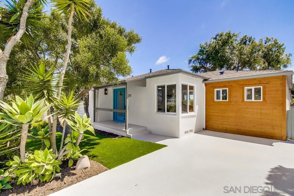 Main Photo: POINT LOMA House for sale : 4 bedrooms : 4251 Niagara Ave. in San Diego