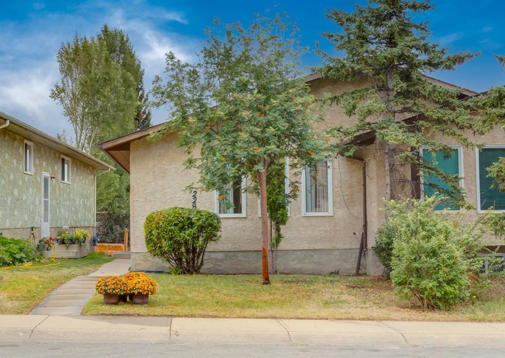 Main Photo: 228 Berwick Drive NW in Calgary: Beddington Heights Semi Detached for sale : MLS®# A1137889