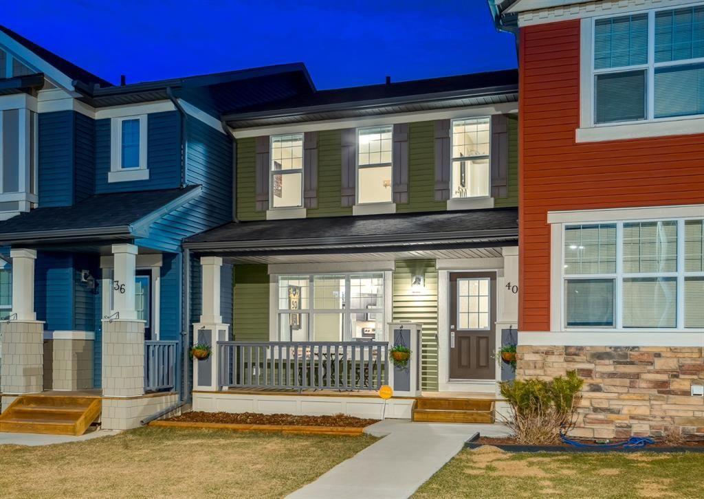 Main Photo: 40 EVANSRIDGE Court NW in Calgary: Evanston Row/Townhouse for sale : MLS®# A1095762