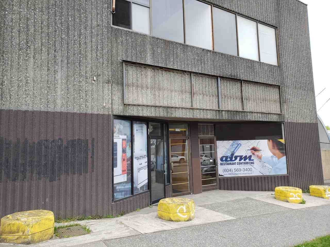 Main Photo: 1774 E HASTINGS Street in Vancouver: Hastings Industrial for lease (Vancouver East)  : MLS®# C8031891