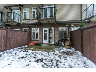 Photo 20: 19 2950 LEFEUVRE ROAD in Abbotsford: Aberdeen Townhouse for sale : MLS®# R2341349
