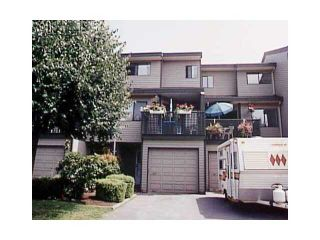 """Photo 1: 43 12180 189A Street in Pitt Meadows: Central Meadows Townhouse for sale in """"MEADOW ESTATES"""" : MLS®# V849181"""