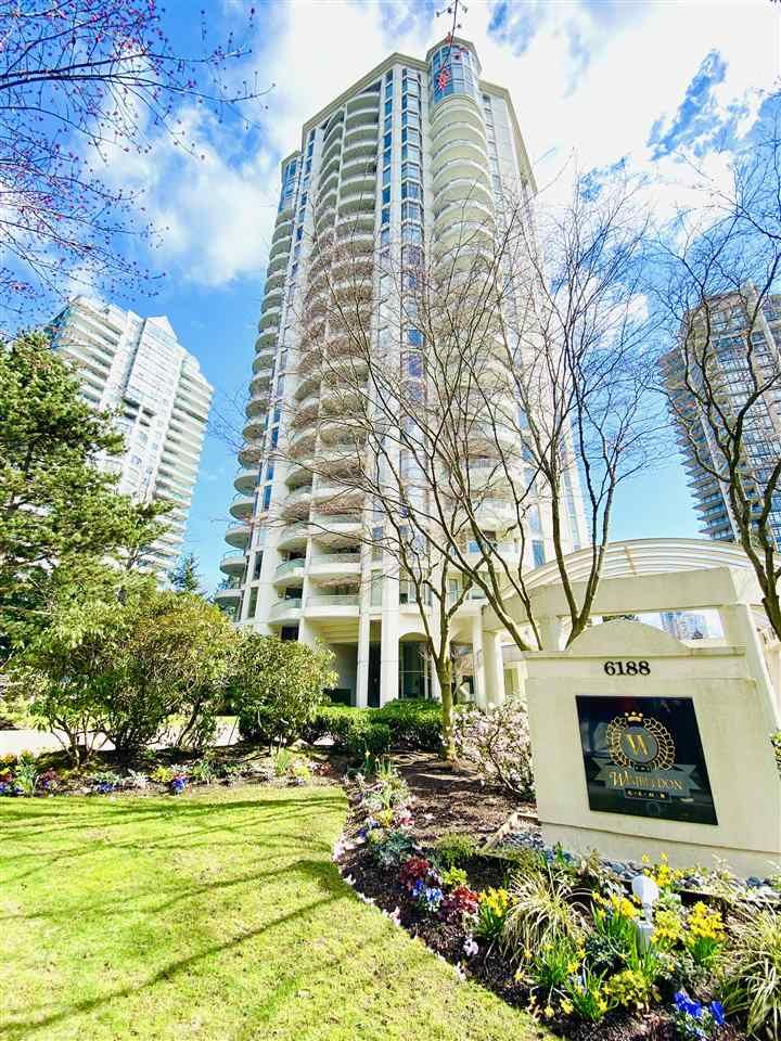Main Photo: 2101 6188 PATTERSON Avenue in Burnaby: Metrotown Condo for sale (Burnaby South)  : MLS®# R2559647