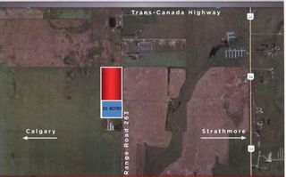 Main Photo: 241002 Rge Rd 263: Rural Wheatland County Industrial Land for sale : MLS®# A1146049