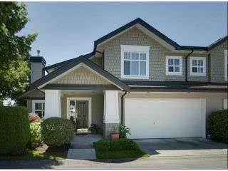 """Photo 1: 1 14877 33RD Avenue in Surrey: King George Corridor Townhouse for sale in """"SANDHURST"""" (South Surrey White Rock)  : MLS®# F1402947"""